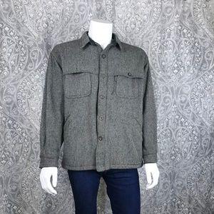 Vintage Woolrich Wool Button Down Shirt Jacket XL